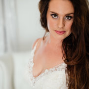 hair, makeup, wedding dress