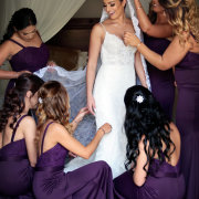bridal hairstyles, bride and bridesmaids, veil, wedding dresses, wedding dresses