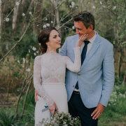 bouquet, bride, groom