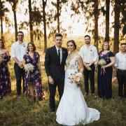 bouquets, bridal party, bride and groom, bride and groom, wedding dresses, wedding dresses