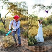 surrealistic wedding photography