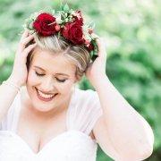 flower crown, makeup