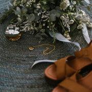 bouquet, brides accessories, necklace, perfume