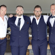groom and groomsmen, grooms suit, groomsmen