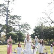 bride, bride and bridemaids, bride and flowergirl, bridesmaid dresses, flower girls, flower girls dresses