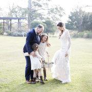 bride and groom, bride and groom, flower girls, bride & groom, bride and flowergirl, groom and bridesmaids