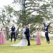 bridal party, bride and bridemaids, bride and groomsmen, bridesmaid dresses, groom and groomsmen