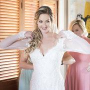 bride, happy bride, lace wedding dress, wedding day, bridal hair, bride of the year