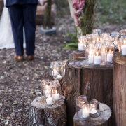 candles, decor, fairytale decor, forest wedding