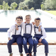 page boys, ring bearer, step sons