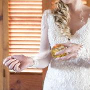 bridal accessories, bridal hair, bride, lace wedding dress, perfume
