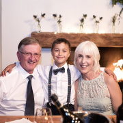 father of the bride, mother of the bride, page boy