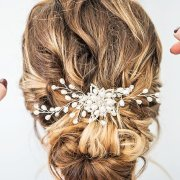 bridal hair accessories, bridal hairstyles