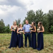 bridesmaids, bridesmaids, groom
