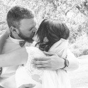 bride & groom, first kiss, mr &mrs boshoff