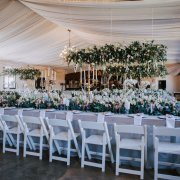 candles, draping, floral decor, hanging decor, wedding decor