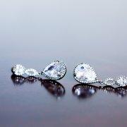 brides accessories, earrings