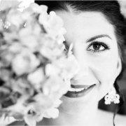 bouquet, bride, makeup