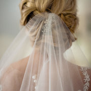 bridal hairstyles, veil