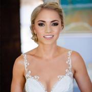 bridal make up, wedding dresses