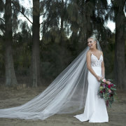 lace, veil, wedding dress
