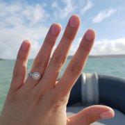nails, ring