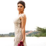 lace, shoes, wedding dress
