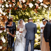 bride and groom, bride and groom, bride and groom, floral arch