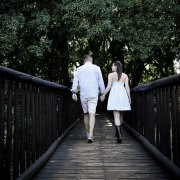 bride, engagement shoot, groom