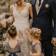 bride and groom, bride and groom, bride and groom, flower girls