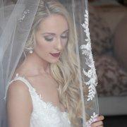 bliss, bridal hair, lace wedding dress, makeup, veil