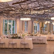 fairy lights, hanging decor, wedding decor