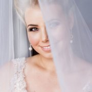 bride, earings, makeup, makeup, makeup