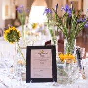 menu, reception