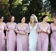 bridesmaids dress, pink