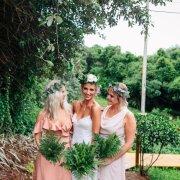 bouquets, flower crown, green