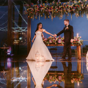 bride and groom, bride and groom, hanging decor