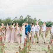bridal party, kiss, kiss