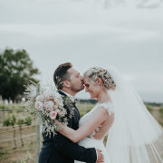 bouquet, bride and groom, bride and groom