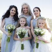 bridesmaids, bridesmaids, flower girls