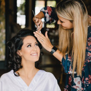 bridal make up, hair