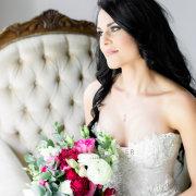 bouquet, bride, getting ready