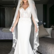 veil, wedding dress, wedding dress