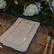 menu, stationery, table setting