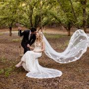bride and groom, bride and groom, bride and groom, veils