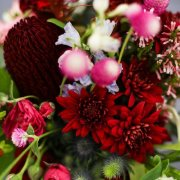 bouquet, red