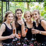 brides maids, drinks