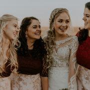 bride and bridesmaids, hairstyles, wedding dresses, wedding dresses, wedding dresses
