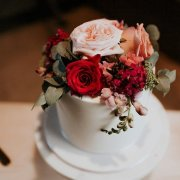 flowers, wedding cake