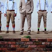groomsmen, socks